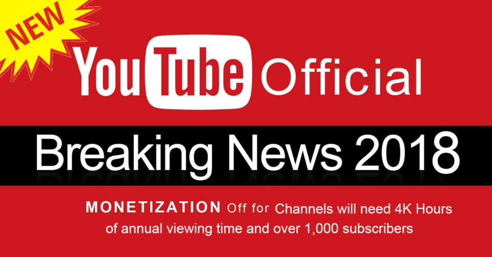 YouTube tightens rules around what channels can be monetized